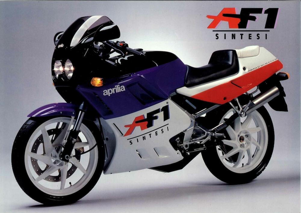 1988 Aprilia Af1 125 Project 108 Replica Classic 2 Stroke